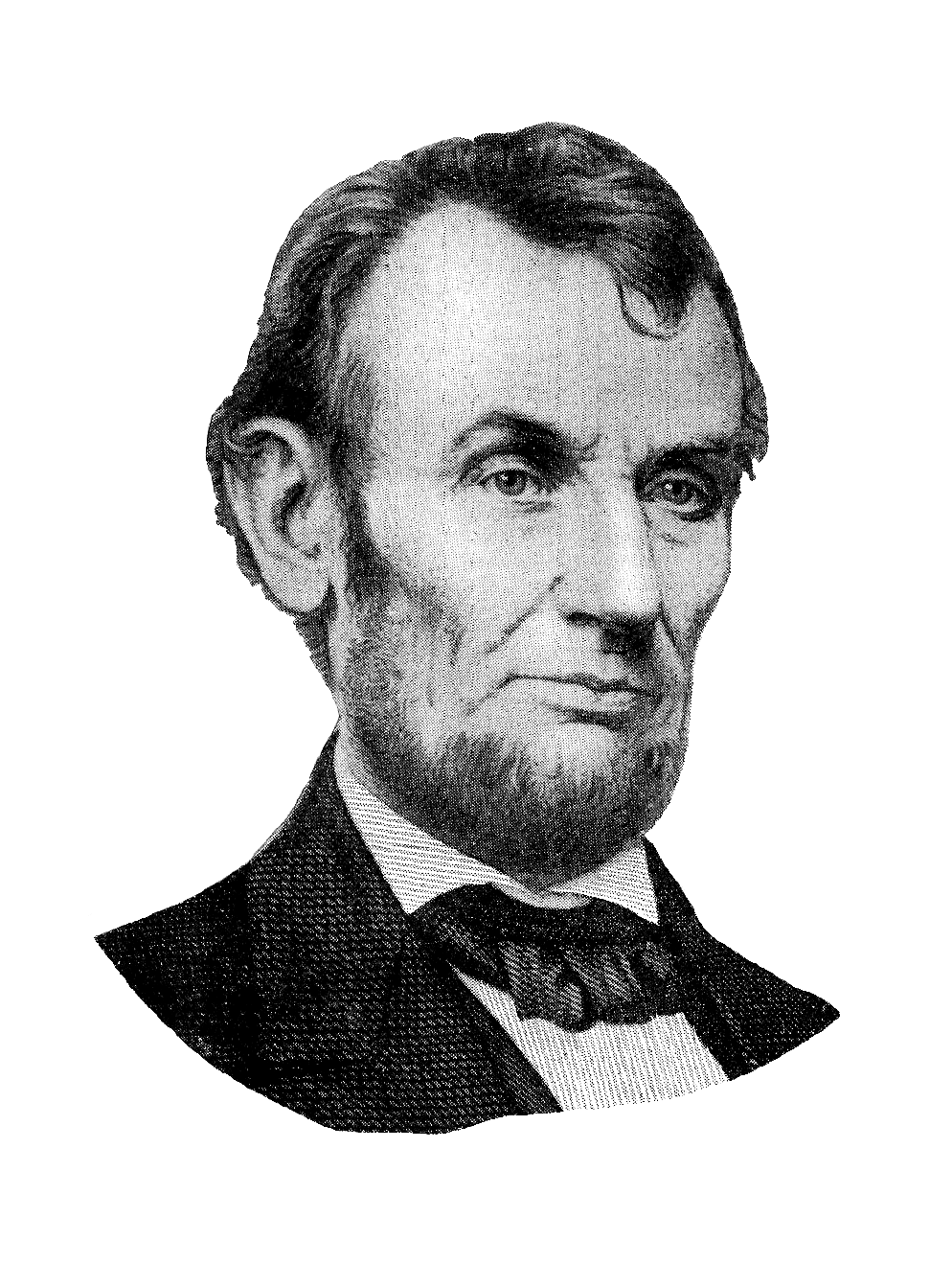 graphic freeuse Abraham lincoln clipart head. Antique images free digital