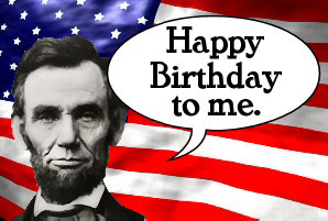svg library download Abraham lincoln clipart lincoln's birthday. Free s bday cliparts