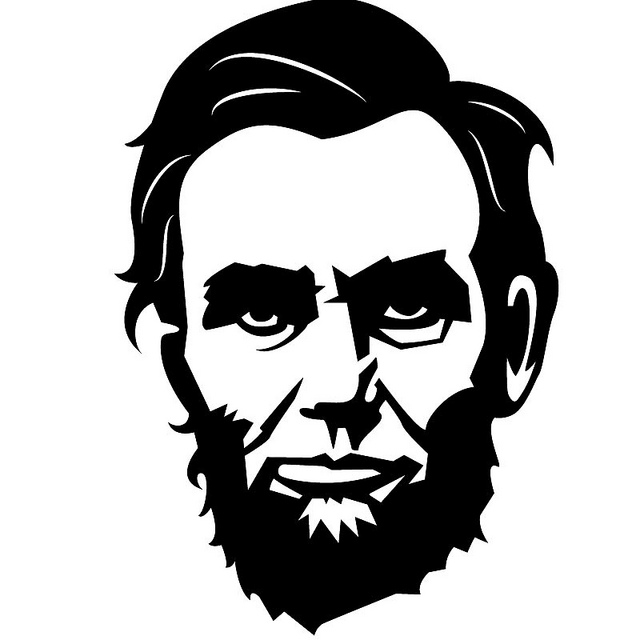 vector freeuse stock Abraham lincoln clipart outline. Free cliparts download clip.