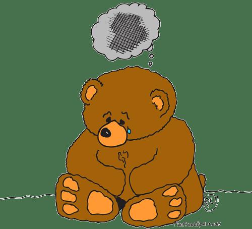 jpg free download Sad Bear