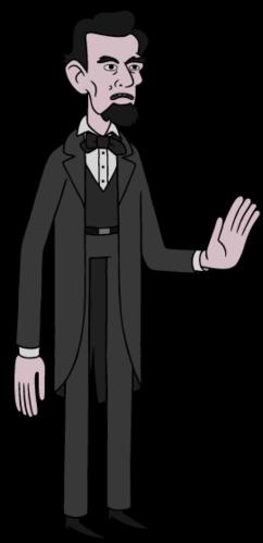 clip freeuse download Adventure time wiki fandom. Abraham lincoln clipart sad
