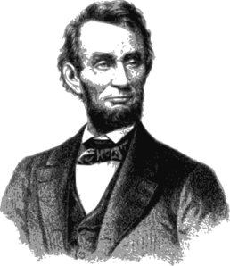 vector free stock Abraham lincoln clipart stencil. Clip art at clker