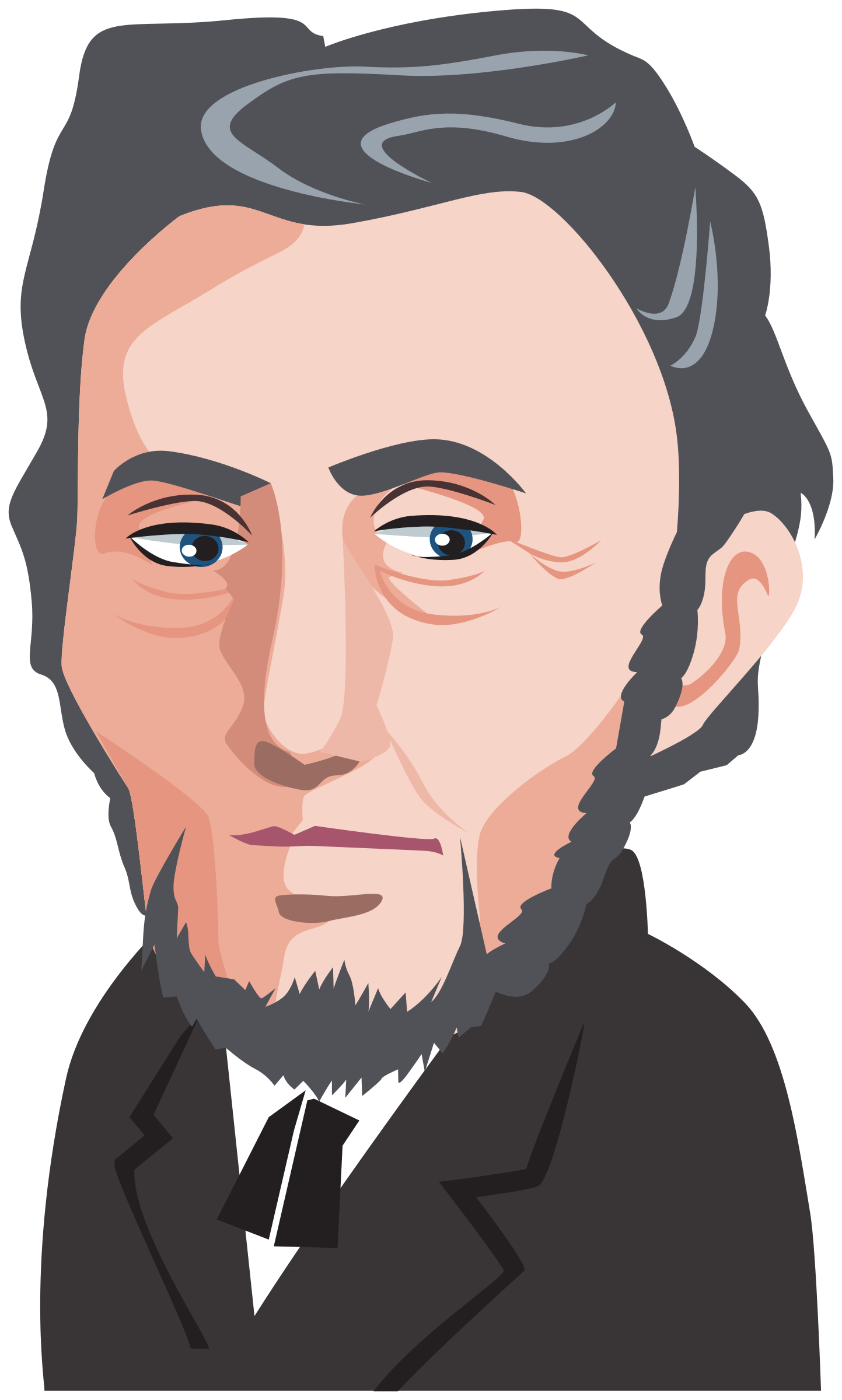 svg transparent download Polititian big image png. Abraham lincoln clipart step by step