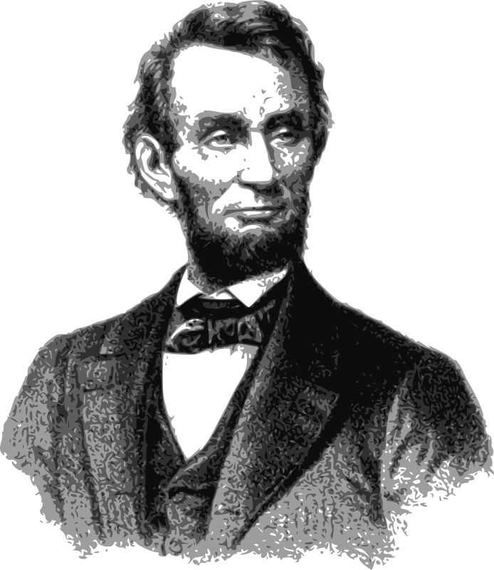 clip art transparent stock Abraham lincoln clipart step by step. Free clip art j