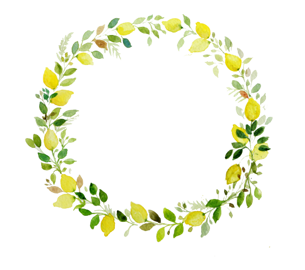 image transparent library Leaf wreath clipart. Images for floral with
