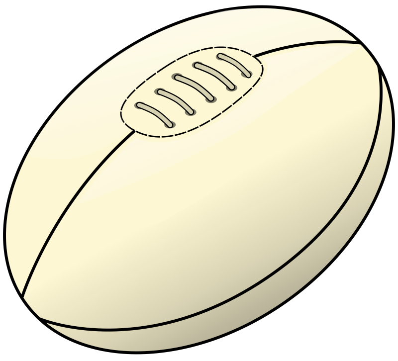 svg download Rugby ball free on. Accents clipart swoosh
