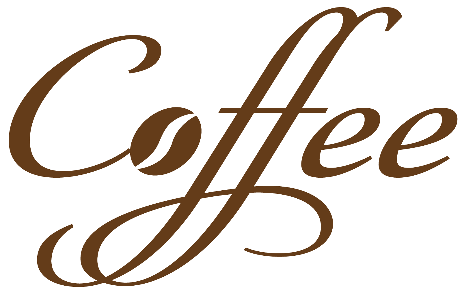 png Vector coffee text. Decorative png clipart theme