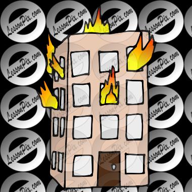 image transparent Accident clipart fire accident. Building on heat clip