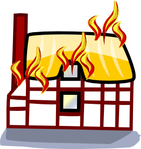png library stock Conclusion clipart insurance. House fire clip art