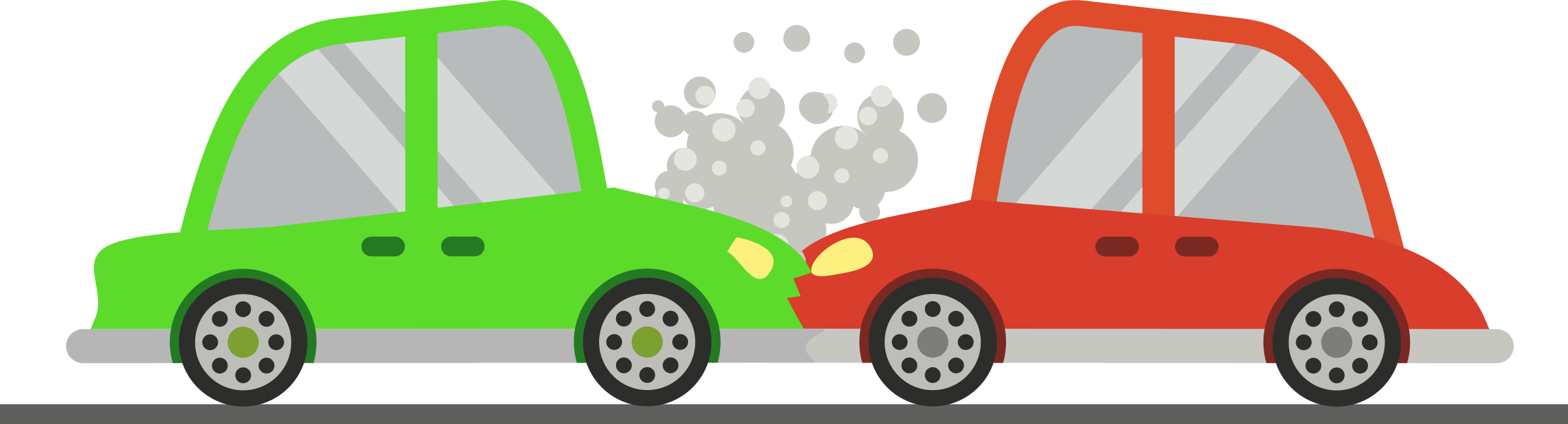 svg download Accident clipart minor injury. Two cars crash big