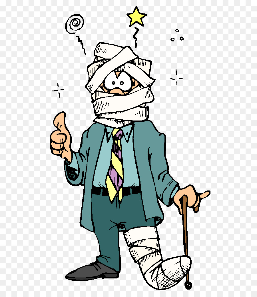 picture transparent Cartoon lawyer art transparent. Accident clipart personal accident.