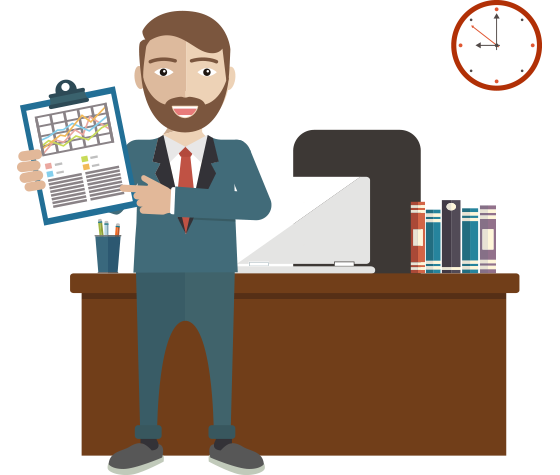 clip royalty free download Accountant clipart.  collection of male