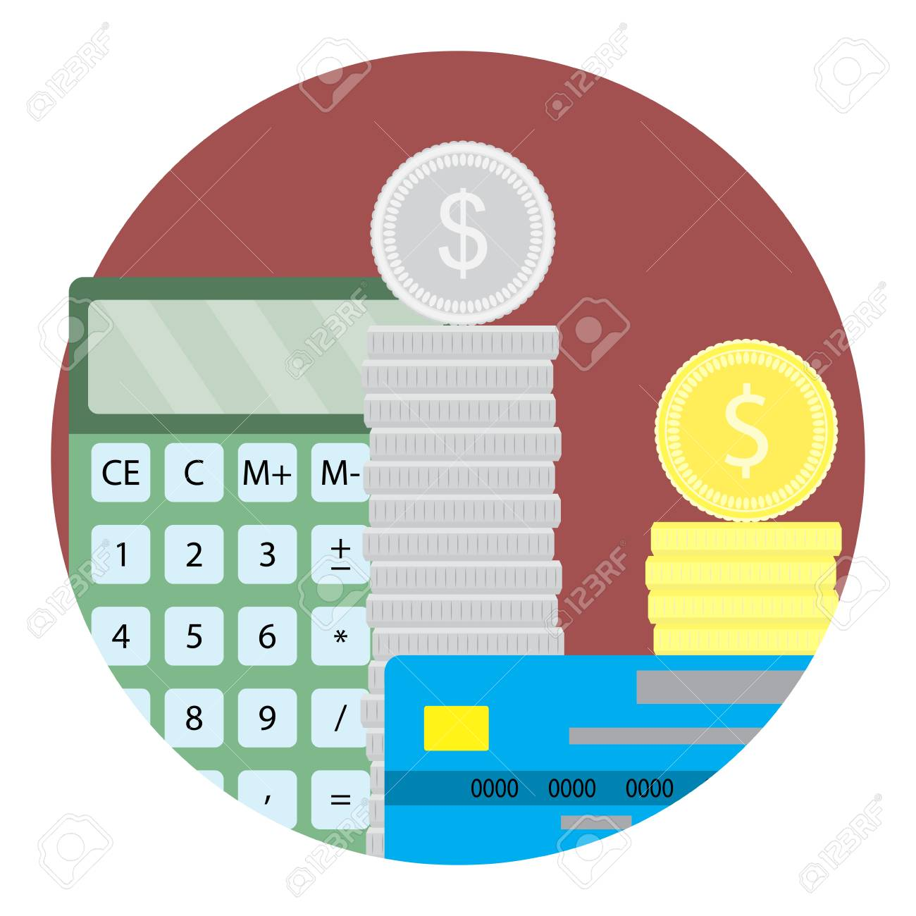 vector black and white library Images gallery for . Accountant clipart capital investment