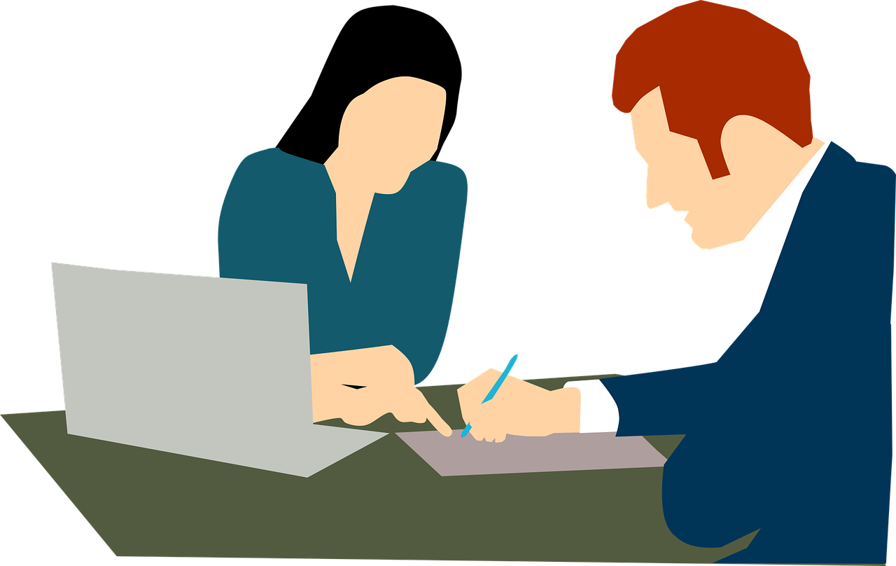 picture download Accountant clipart free download. Vector employment sad