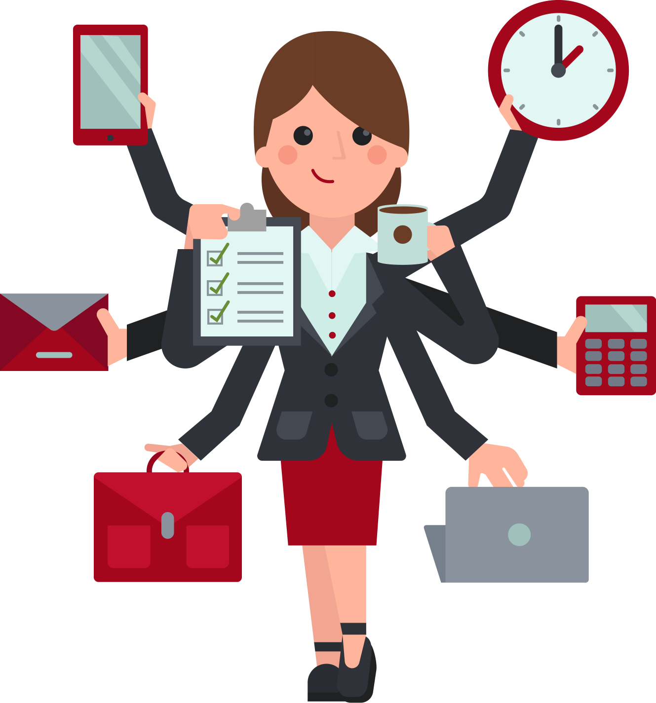 vector free download Personable image group virtual. Accountant clipart job