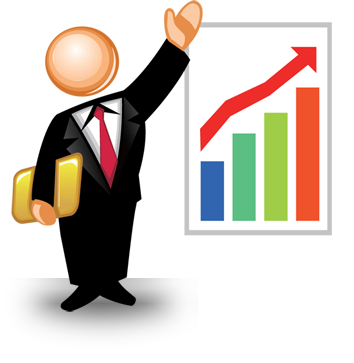 image stock Top outsourcing and bookkeeping. Accountant clipart managerial accounting