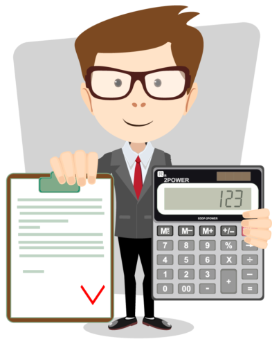 clipart royalty free stock Accountant clipart managerial accounting. Accountants piening having the