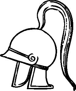 vector black and white stock Tuba drawing roman. Helmet at getdrawings com