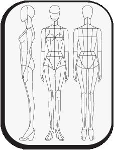 clipart download Http pretatemplate com download. Block drawing human figure