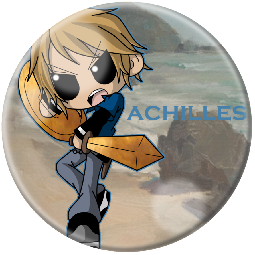 clipart transparent library Chibi Achilles by Cazuuki on DeviantArt
