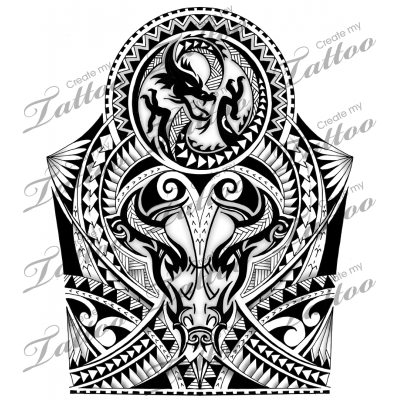 image transparent stock Maori shoulder half sleeve. Pride drawing polynesian