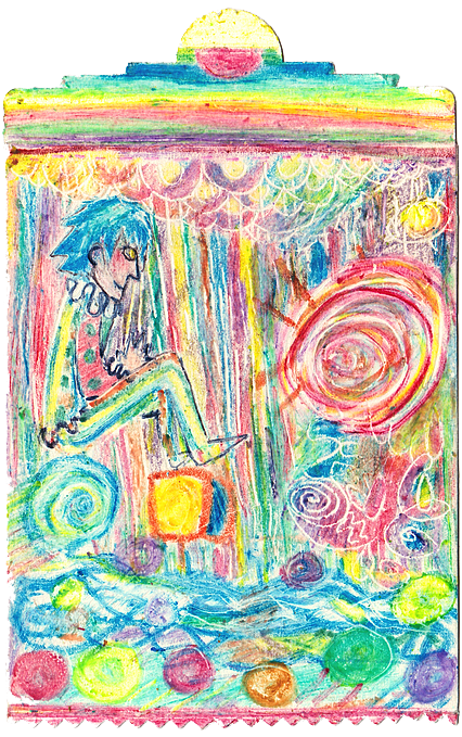 vector royalty free library childlish drawing