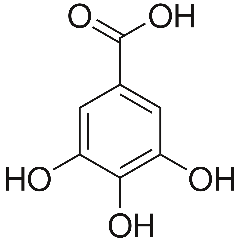 clip art transparent Gallic acid