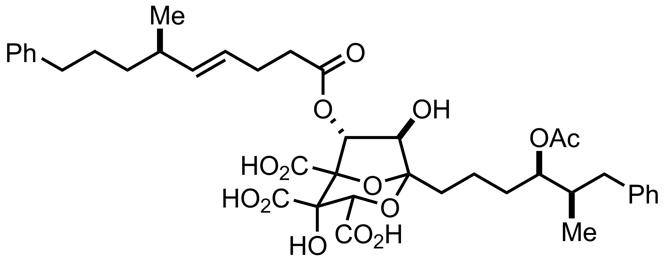 banner free stock Synthesis of Zaragozic Acid C by David A