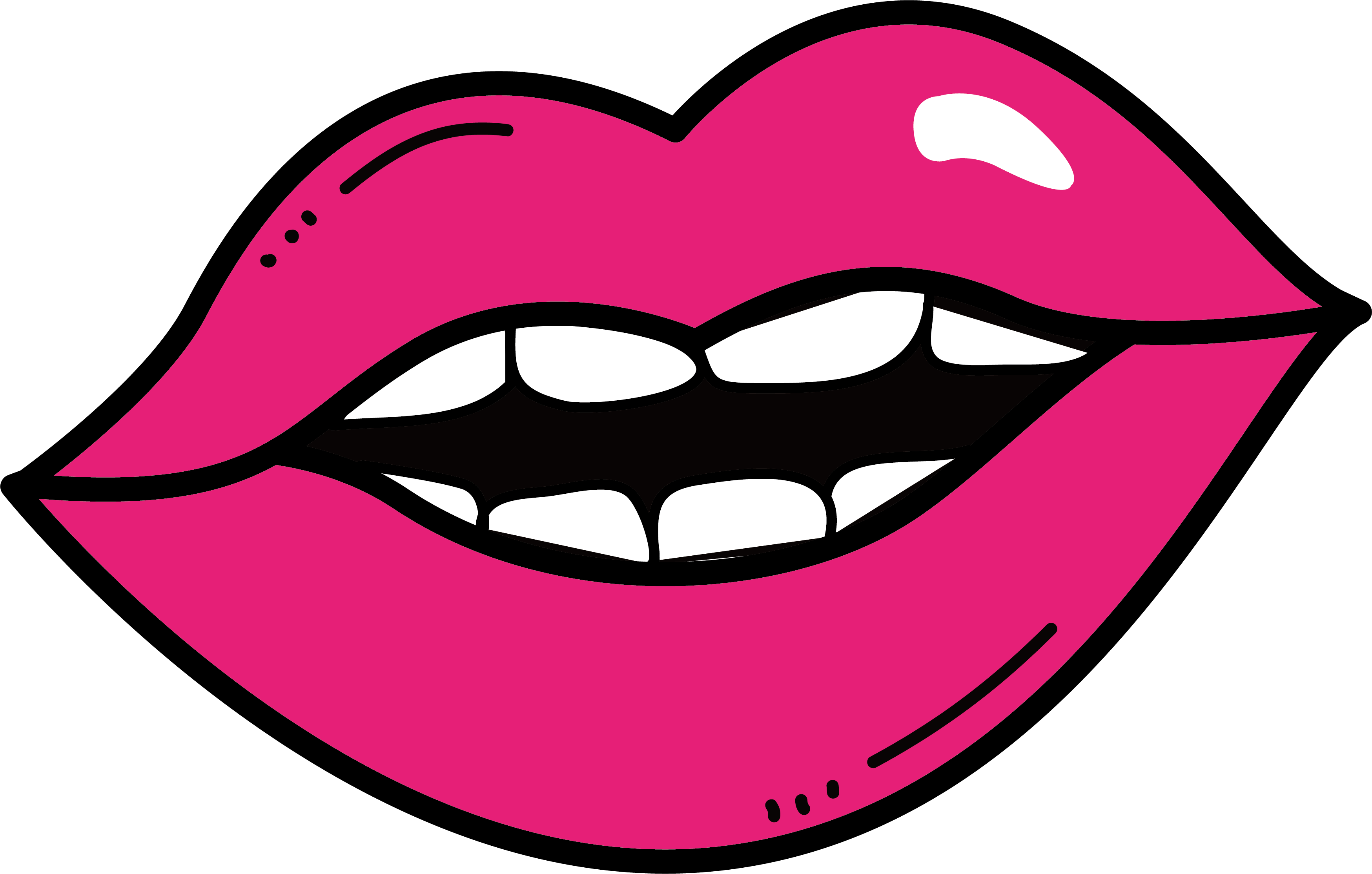 svg free library Bean drawing mouth. Collection of free tongue