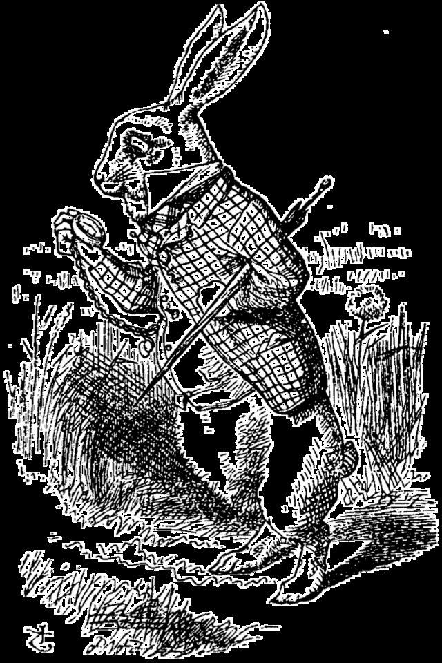 clip art transparent download White Rabbit