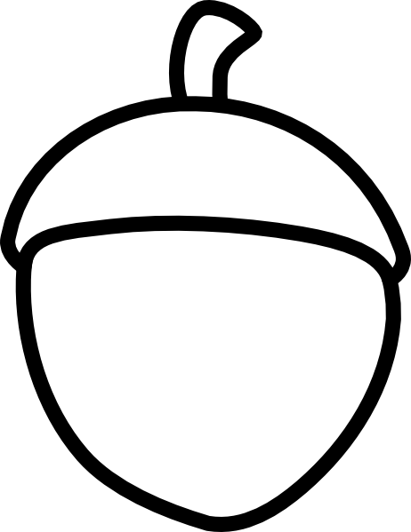 image freeuse Return clip art vector. Acorn clipart accorn