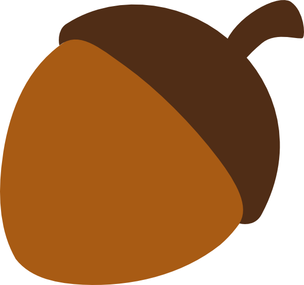 banner freeuse library Acorn clipart drawn. Simple free on dumielauxepices