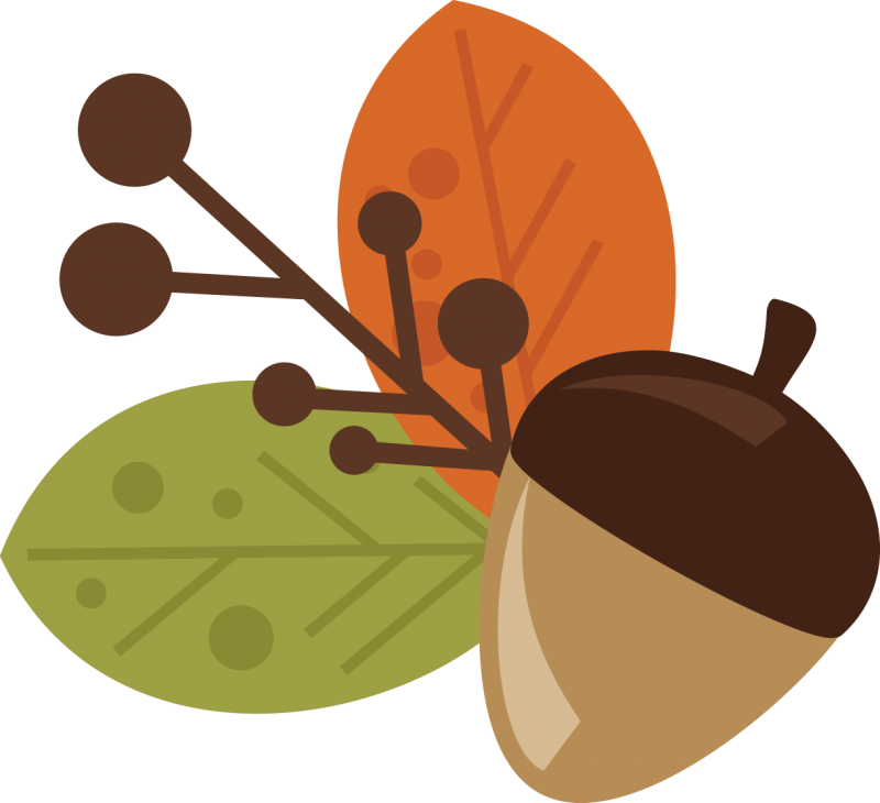 picture freeuse stock And leaves free svg. Acorn clipart leaf