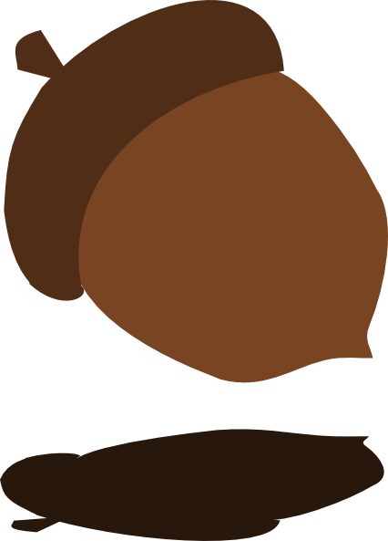 banner transparent library Brown clipart acorn. Svg free on dumielauxepices