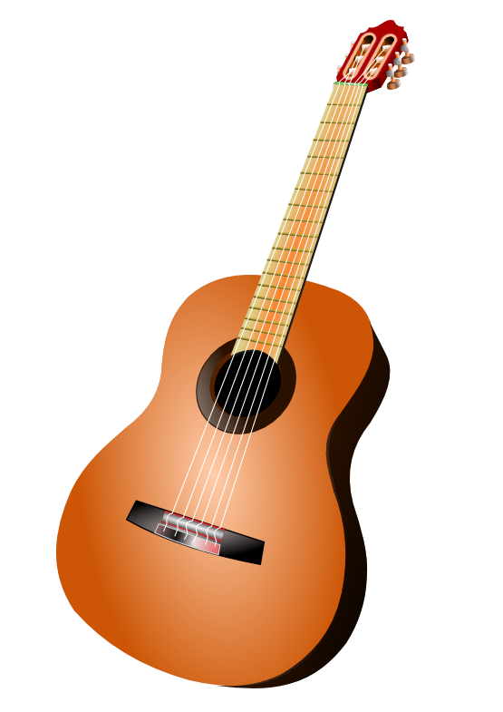 graphic transparent download Acoustic clipart. Guitar