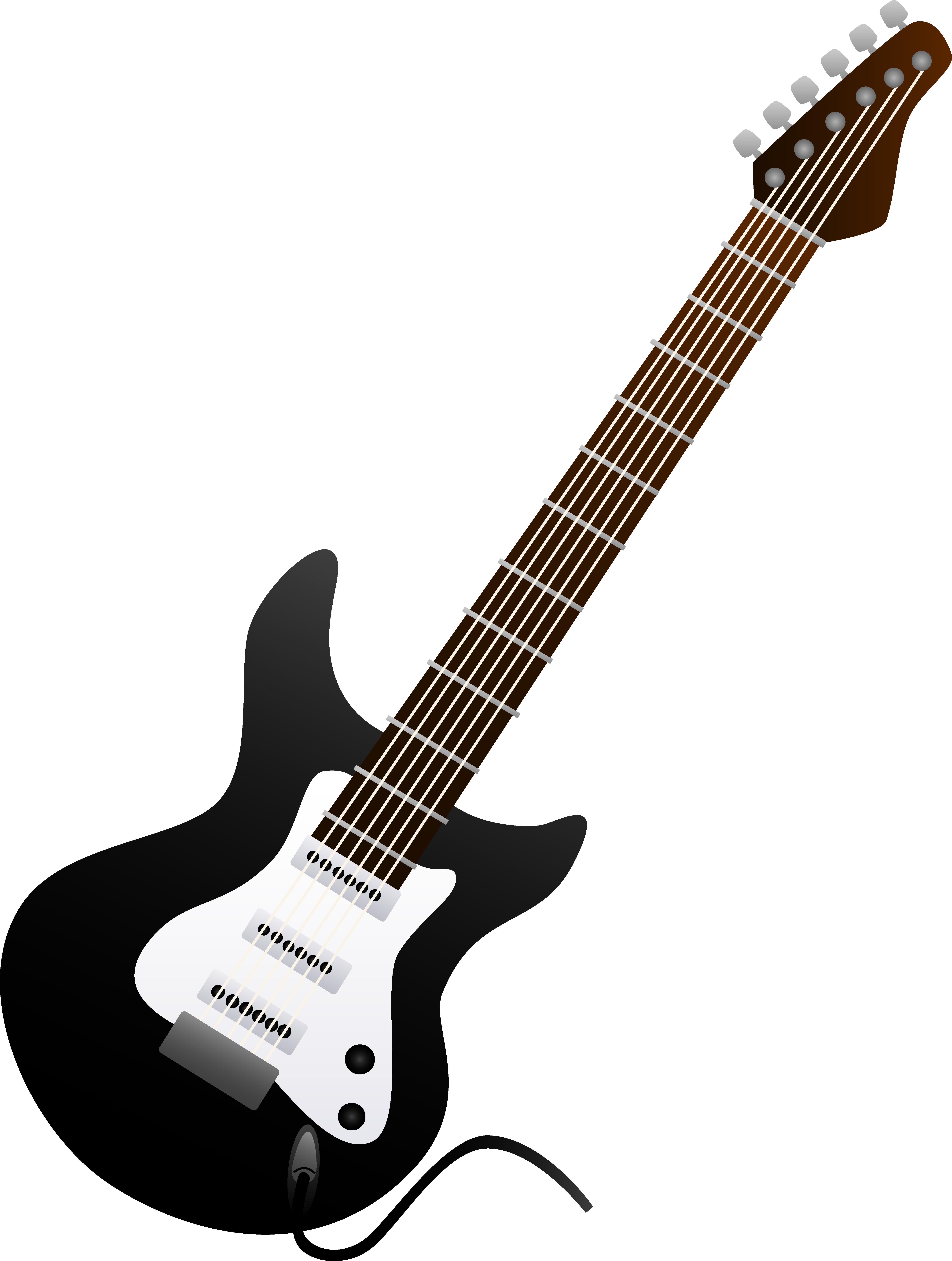 clipart free library Acoustic clipart. Guitar clip art black