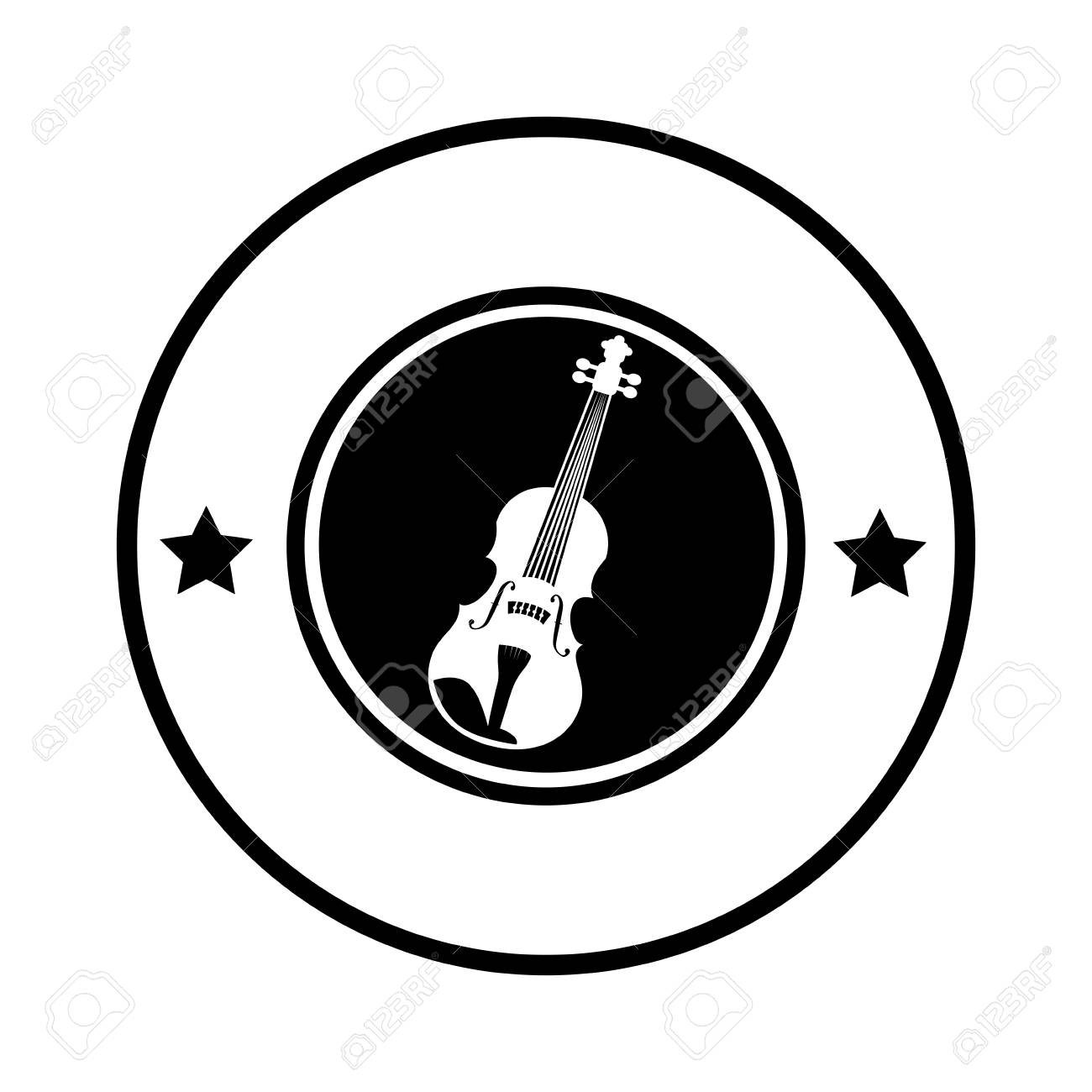 banner royalty free stock  guitar free clip. Acoustic clipart border
