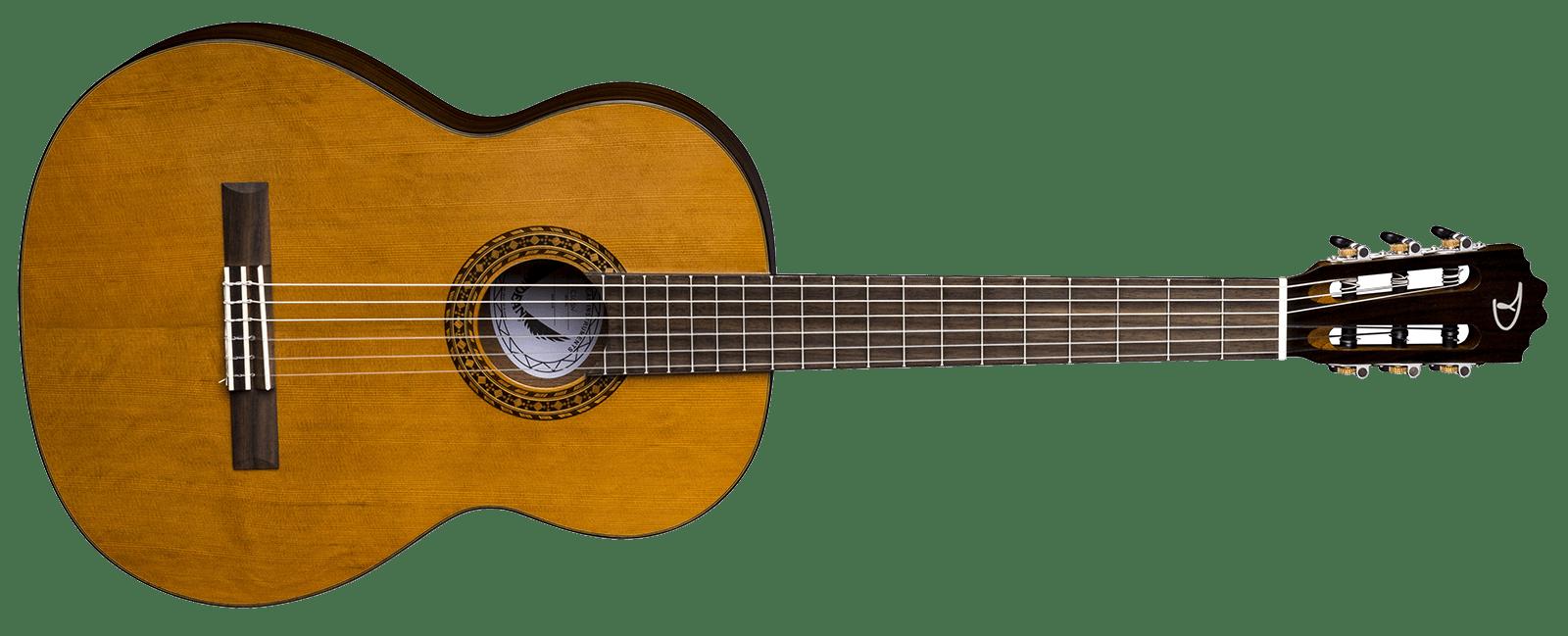 vector library Espana solid cedar sn. Acoustic clipart classical guitar