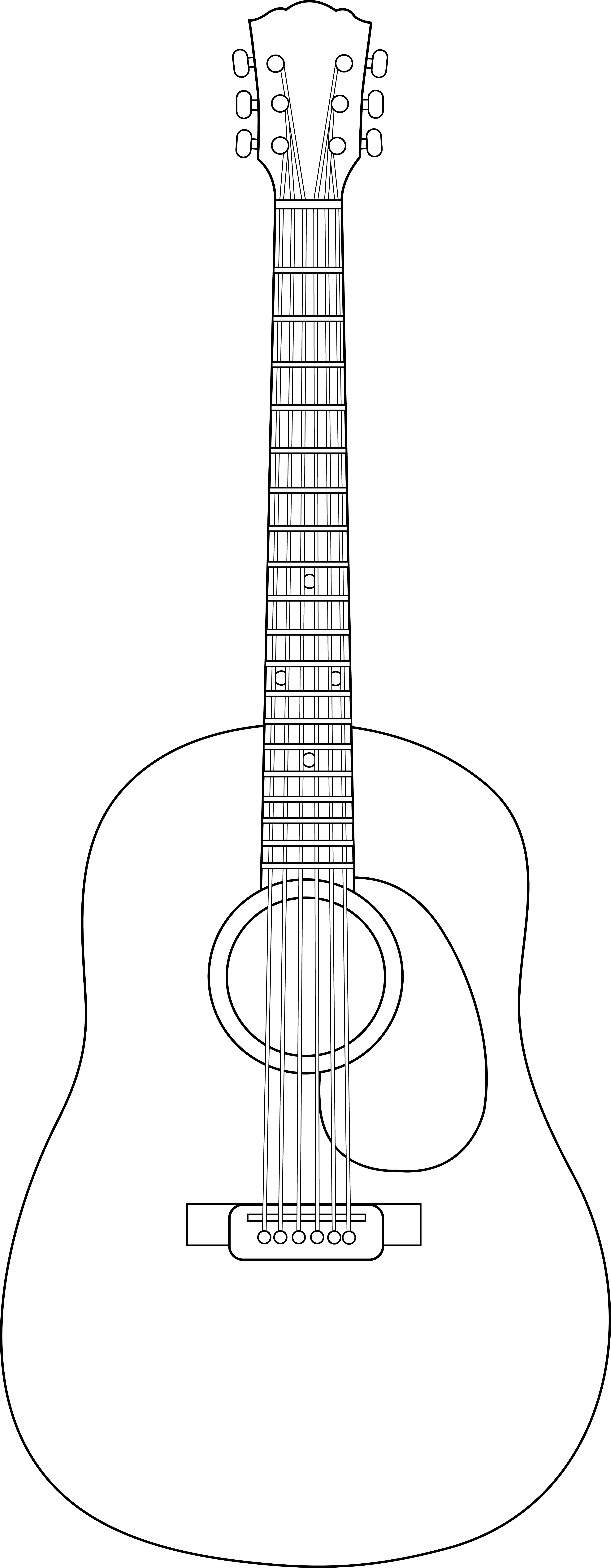clip freeuse download Design free on. Acoustic clipart classical guitar