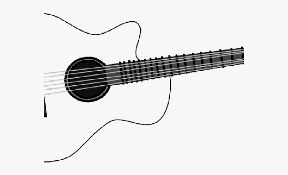 svg freeuse download Acoustic clipart cute. Guitar svg free .