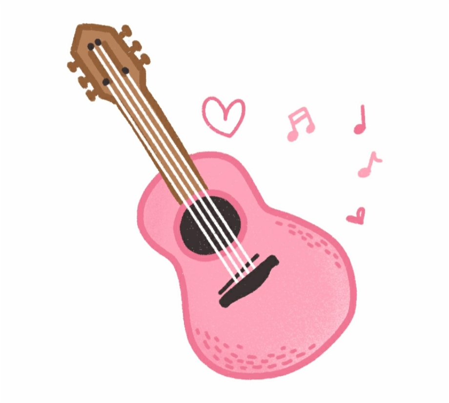 clip freeuse Download for free png. Acoustic clipart cute.