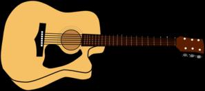 vector stock Guitar picture clip art. Acoustic clipart guita
