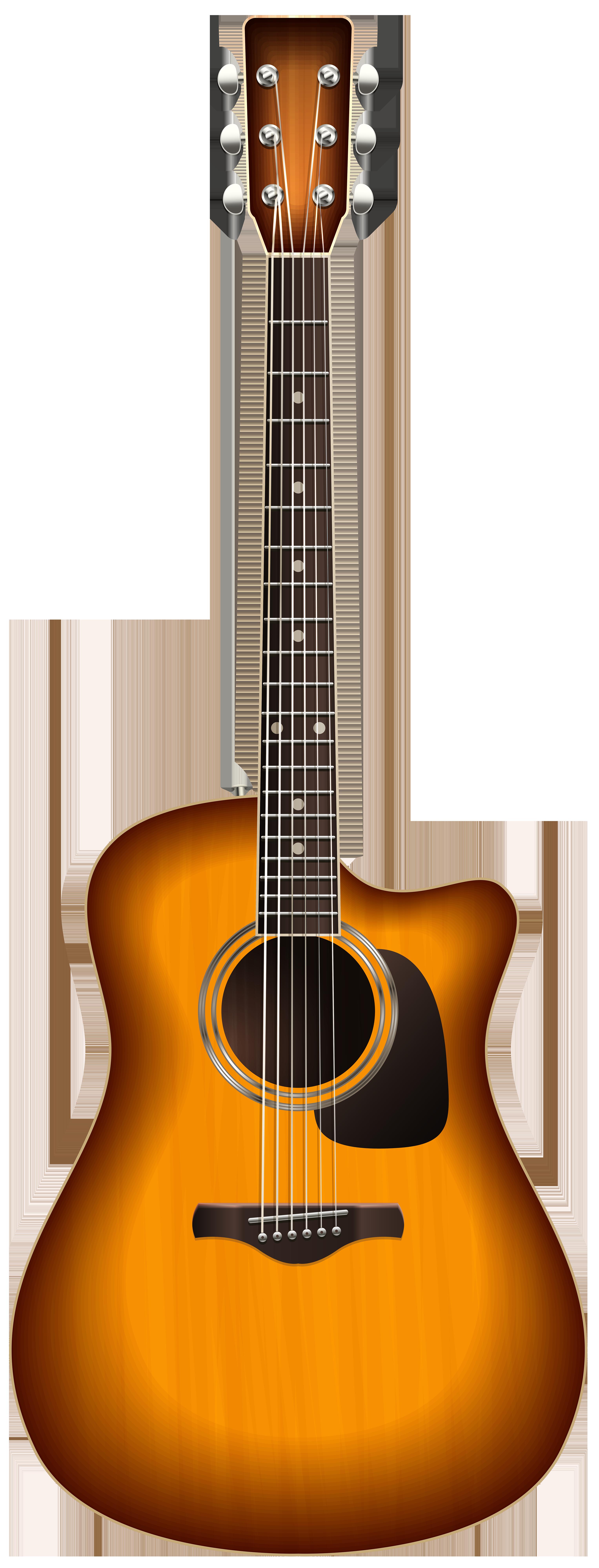graphic free download Acoustic clipart guita. Guitar png transparent clip