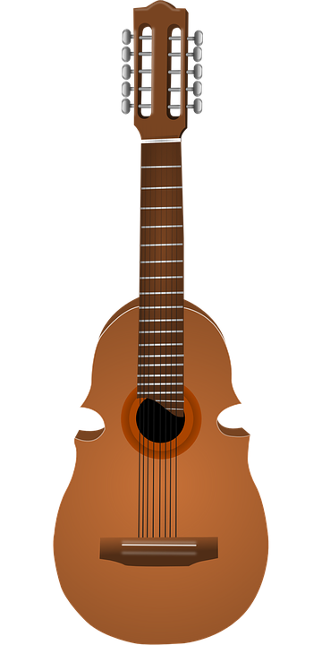 clip library download Instrumentos musicais bailes notas. Acoustic clipart guitar string