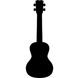 svg free download Acoustic clipart ukulele. Free svg silhouette scan