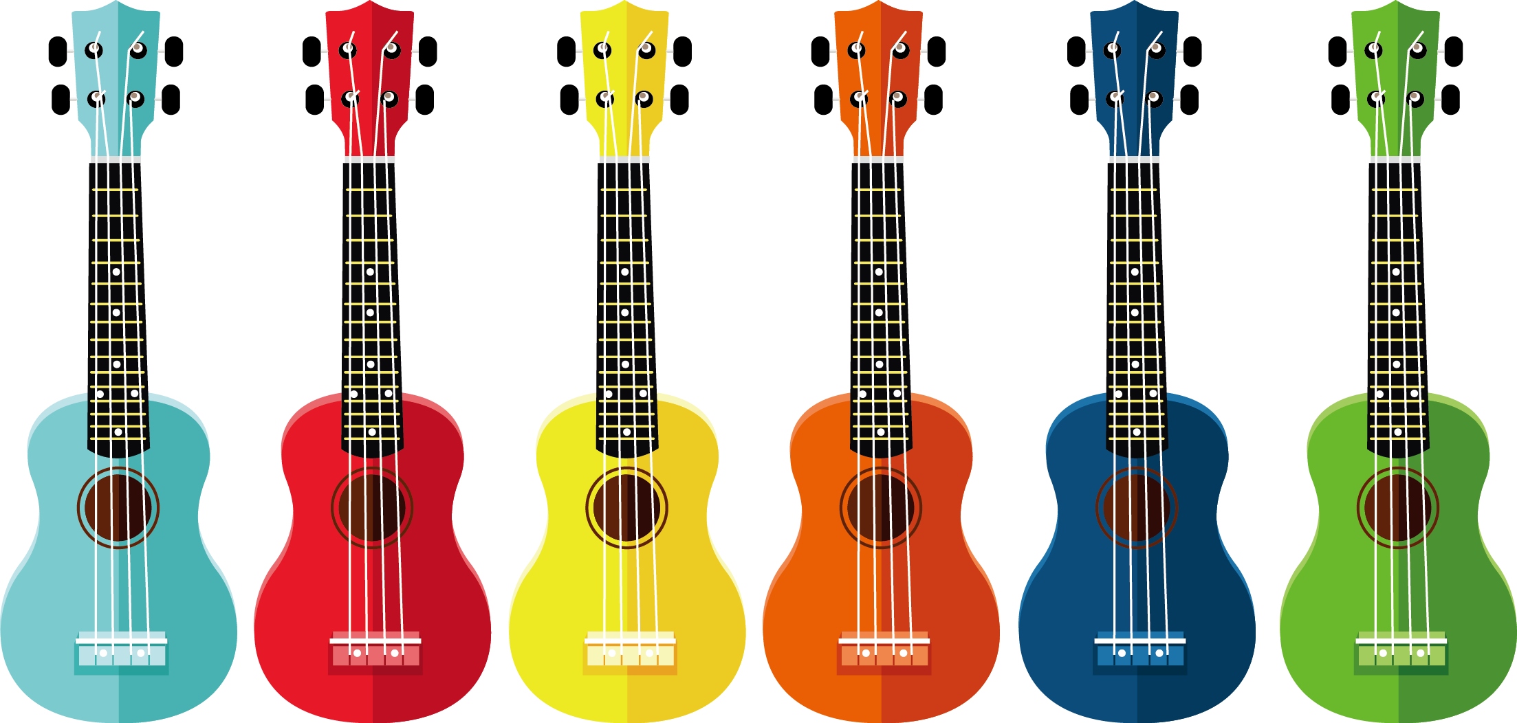 banner free library Ukulele Drawing Clip art