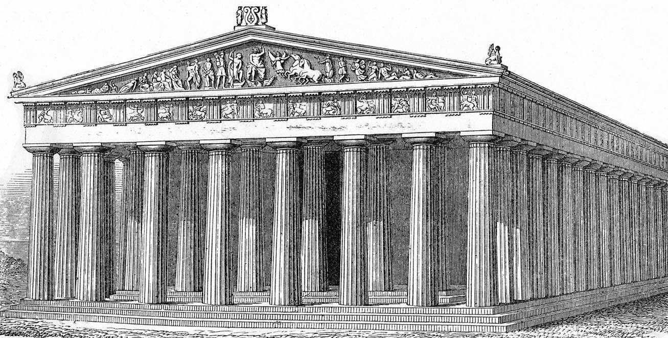 clipart black and white Acropolis drawing greece ancient. Pin on ankit