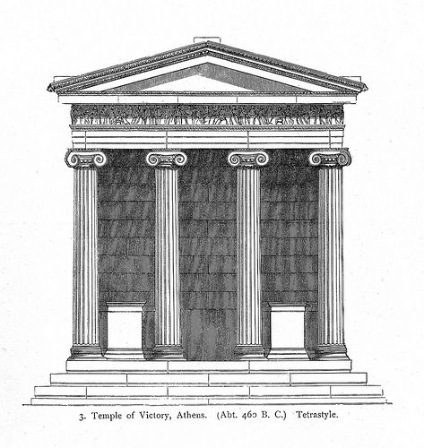 png transparent Acropolis drawing greece ancient. Temple of athena nike