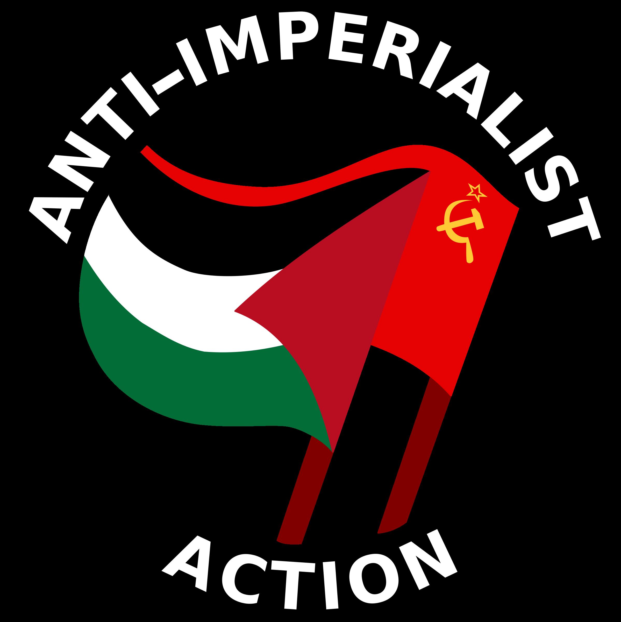 svg transparent Action clipart. Anti imperialist big image