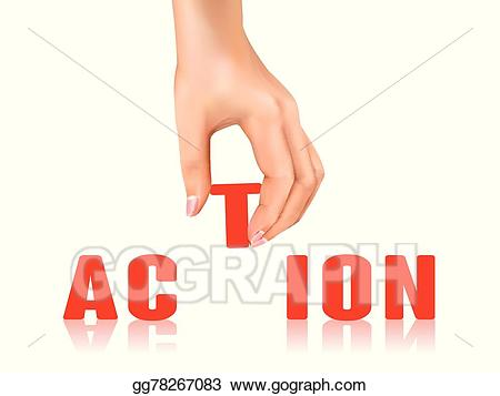 image free download Vector art word away. Action clipart action taken